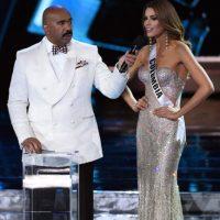 Cabe recordar que Steve Harvey cometió un error al coronar a Miss Colombia, cuando la ganadora fue Miss Filipinas Foto:Getty Images