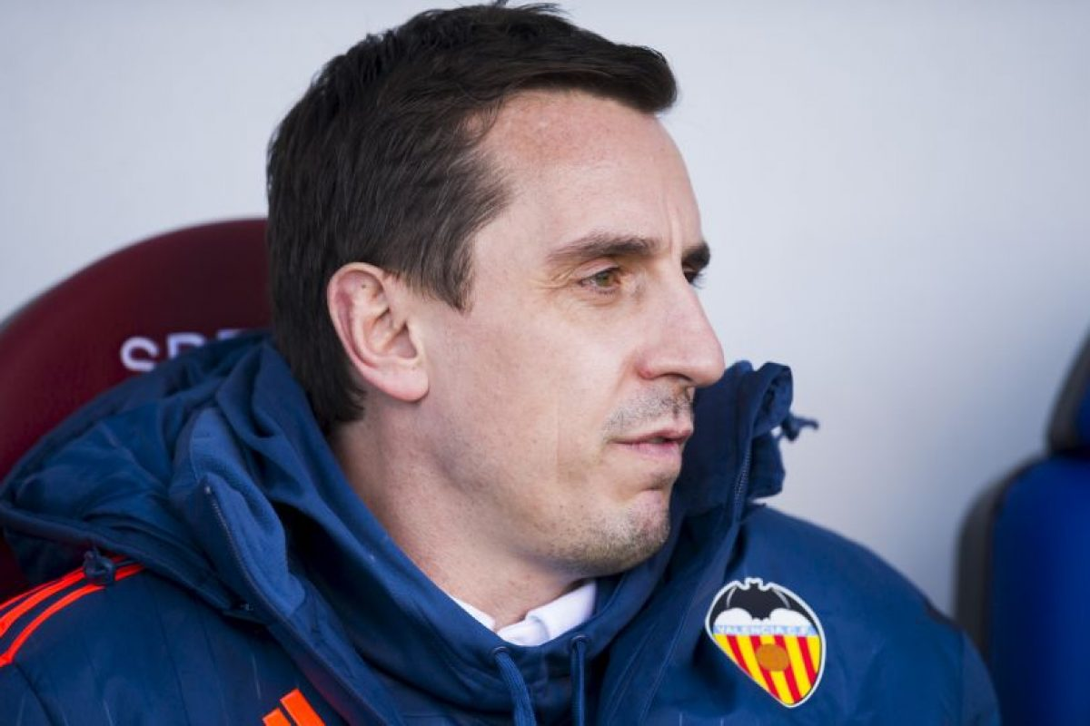 Gary Neville (Valencia) Foto:Getty Images