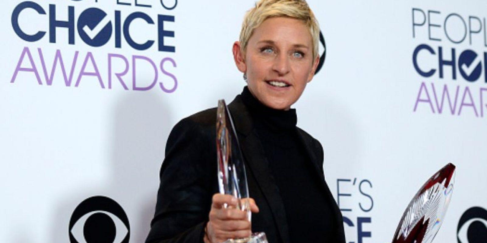 Ellen DeGeneres, otra de las personalidades más admiradas. Foto:vía Getty Images