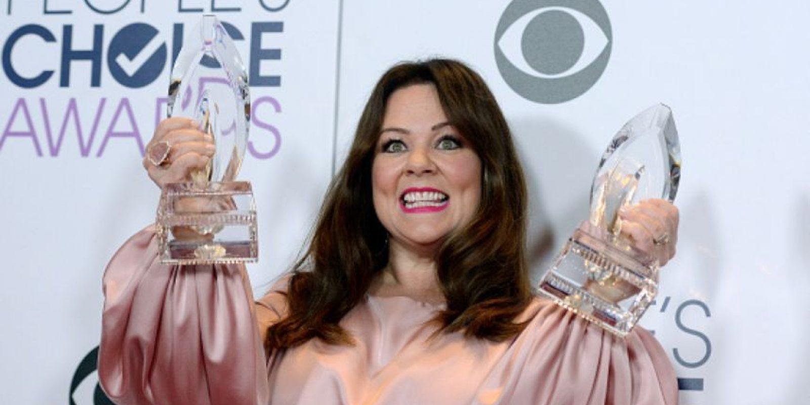 Melissa McCarthy sigue siendo una de las comediantes más queridas. Foto:vía Getty Images