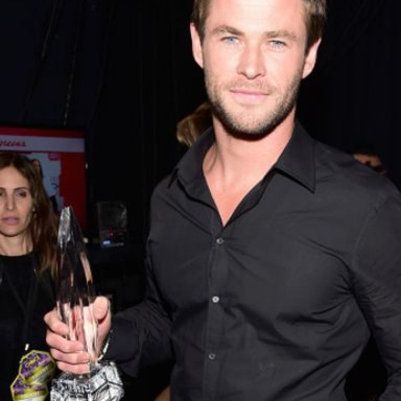 Chris Hemsworth impacta por su carisma y físico. Foto: vía Getty Images