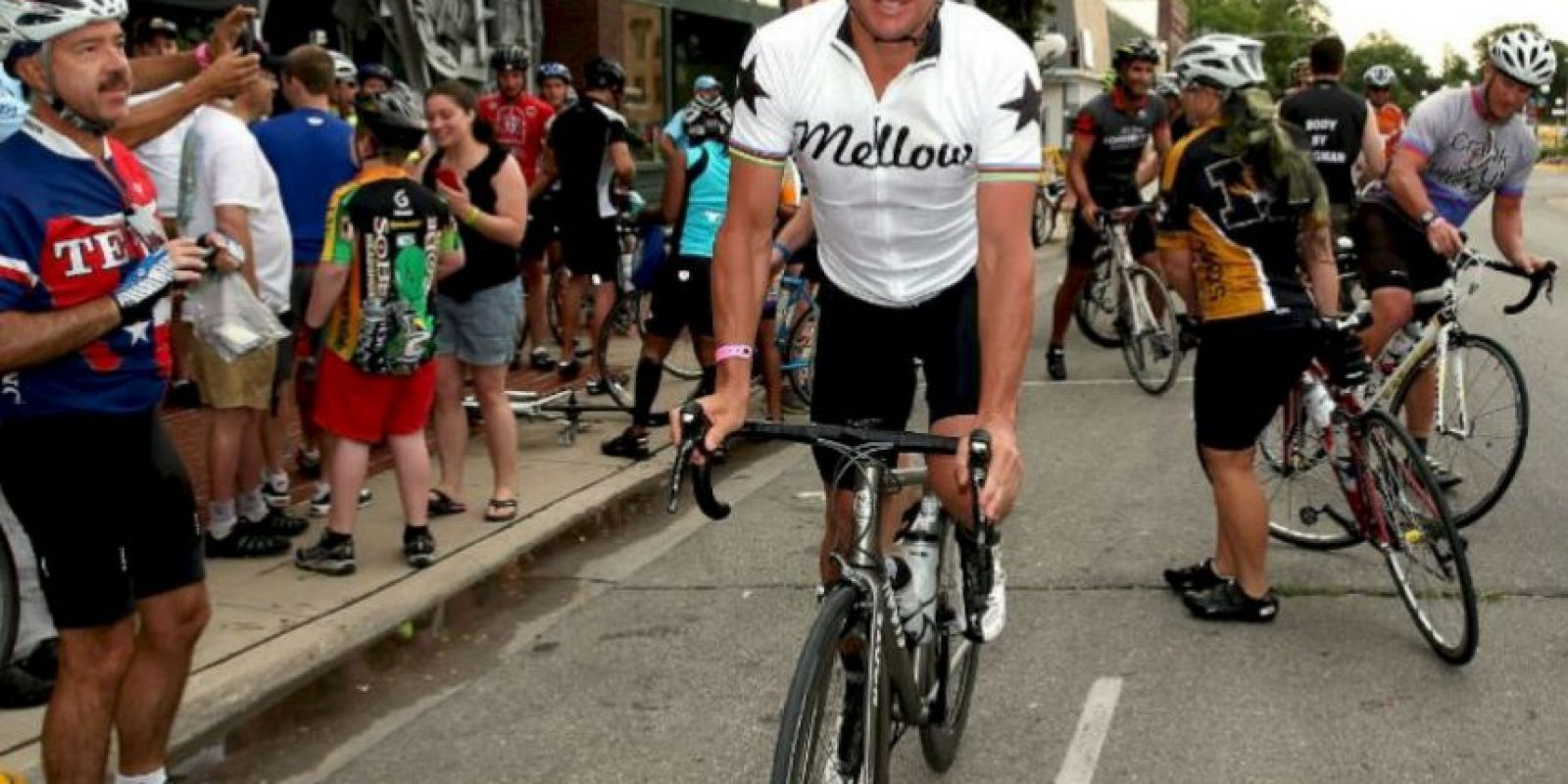 8. Lance Armstrong ganó su primer Tour de Francia en 1999 Foto:Getty Images
