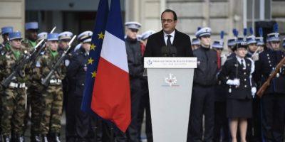 El presidente de Francia, François Hollande. Foto:AFP