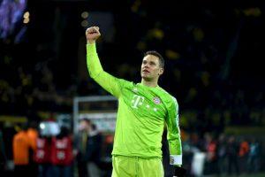 PORTERO: Manuel Neuer (Bayern Munich) Foto:AFP