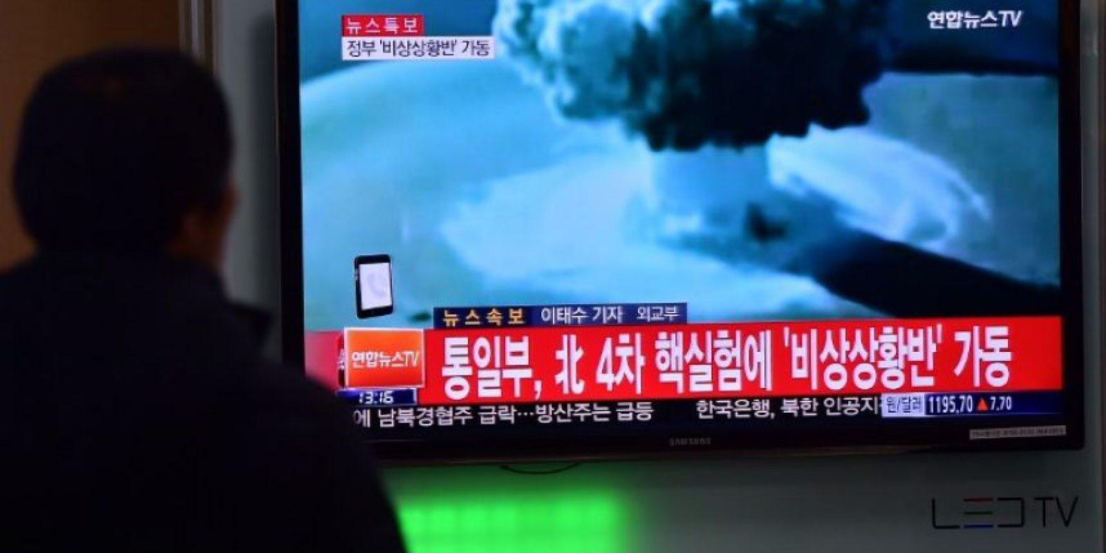 """Con las pruebas de la """"Bomba H"""" en Corea del Norte, Kim Jong-un enfureció a la comunidad internacional Foto:AFP"""