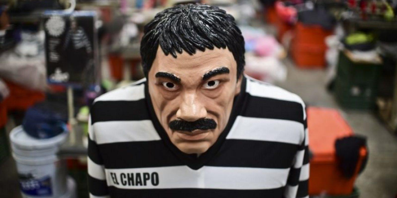 """Joaquín """"El Chapo"""" Guzmán, fue capturado este 8 de enero. Foto:AFP"""