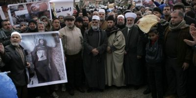 Madaya se encuentra sitiada desde hace más de 170 días por las tropas del régimen y el grupo Hezbollah. Foto:AFP