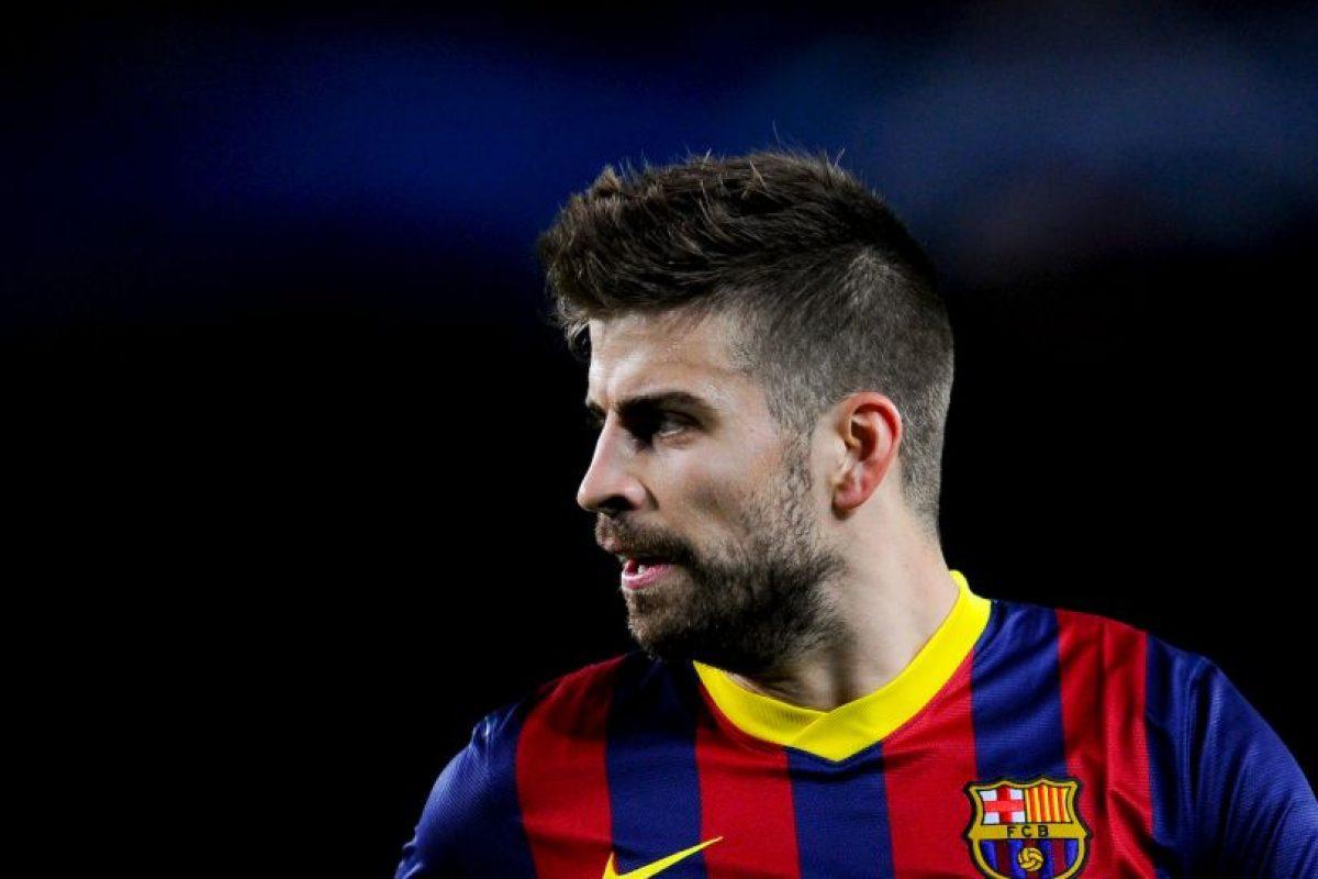 Gerard Piqué (Barcelona) Foto:Getty Images
