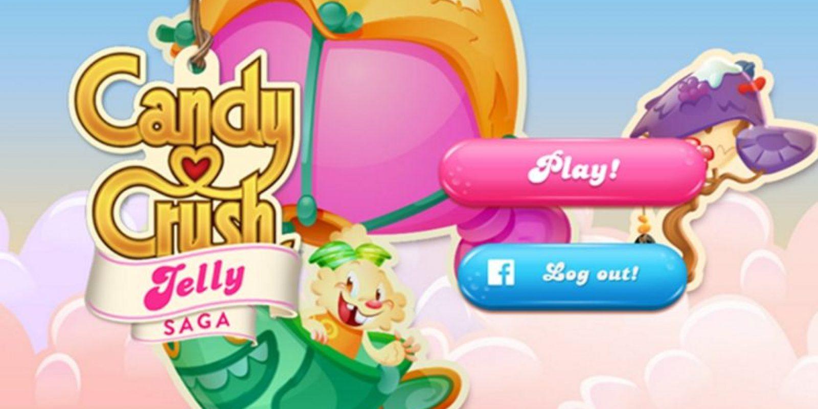 """""""Candy Crush Jelly Saga"""" ya disponible gratis para iOS y Android. Foto:King"""
