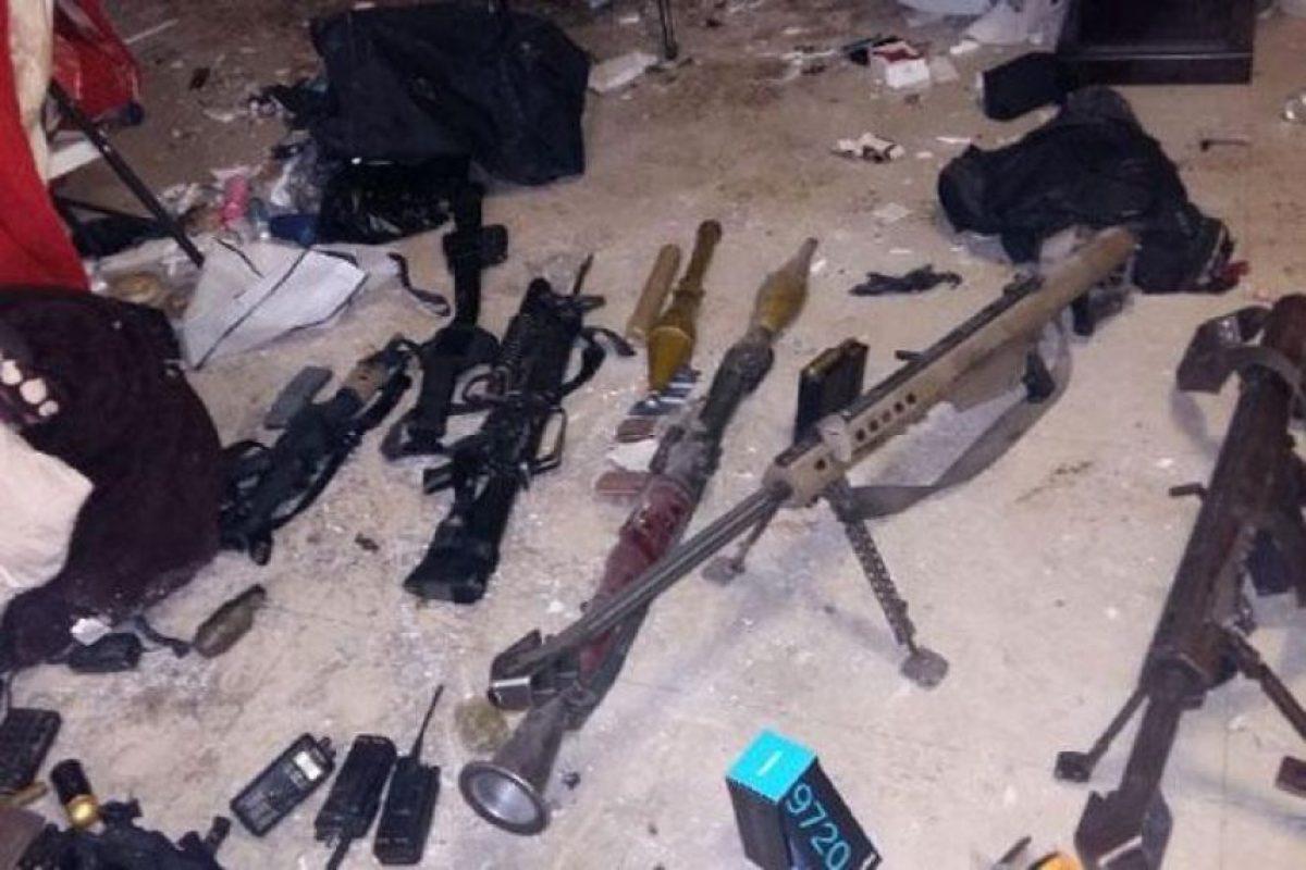 Las armas confiscadas Foto:Agencias