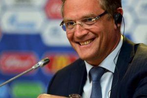 2. Jerome Valcke. El exsecretario de la FIFA fue suspendido en octubre de 2015. Foto:Getty Images