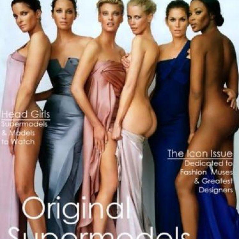 """Las llamaron las """"supermodelos"""". Foto:vía Vogue"""