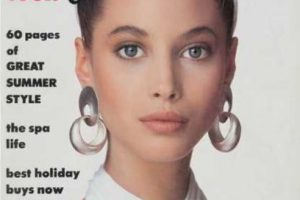 3. Christy Turlington. Foto:vía Vogue