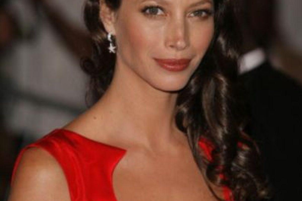Está casada desde 2003 con el actor Edward Burns y tiene dos hijos. Foto:vía Facebook/Christy Turlington Burns