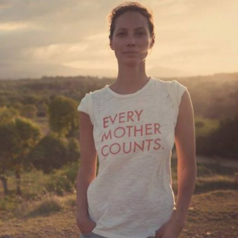 Tiene empresas dedicadas al estilo de vida. Foto: vía Facebook/Christy Turlington Burns
