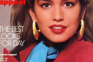 Desde los años 80 se hizo famosa por no ser como las otras modelos. Foto:vía Vogue