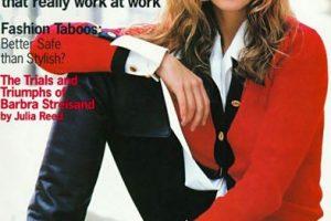 También estuvo casada con Richard Gere, pero se divorció. Foto:vía Vogue