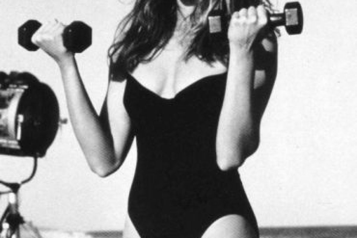 En los años 90 se hizo famosa por sus videos de ejercicios. Foto:vía Vogue