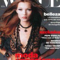 Se distinguía de las demás modelos por su delgadez y sus particulares rasgos. Foto:vía Vogue
