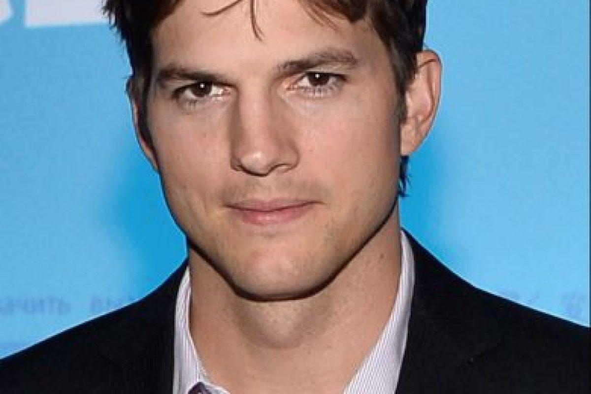 Kutcher se ha involucrado en varios escándalos antes de Mila Kunis. Foto:vía Getty Images