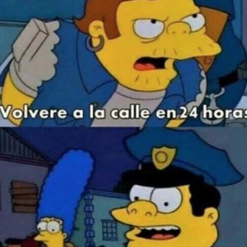 Una realidad muy clásica en Latinoamérica, sea con delincuentes de cuello blanco, narcos o simples ladroncillos. Foto:vía Twitter