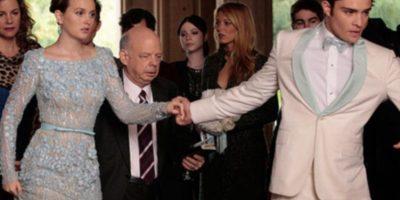 Una de las parejas más populares era la de Blair Waldorf y Chuck Bass. Los dos fueron interpretados por Leighton Meester y Ed Westwick. Foto:vía The CW