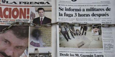 """Esta es la tercera vez que """"El Chapo"""" es capturado. Foto:AFP"""
