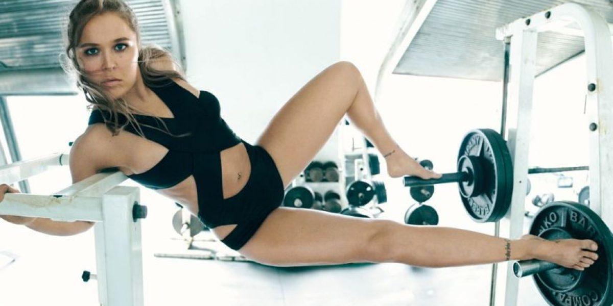 FOTOS. El impactante cuerpo de Ronda Rousey sin ropa solo con bodypaint