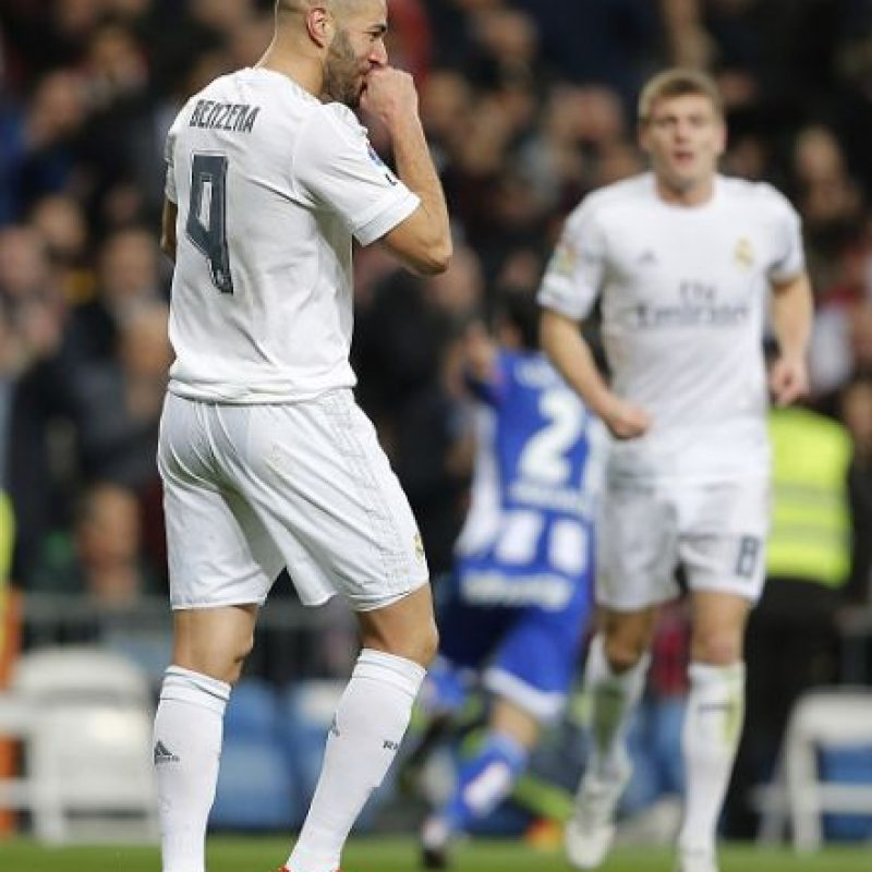 Karim Benzema anotó dos goles. Foto:Getty Images