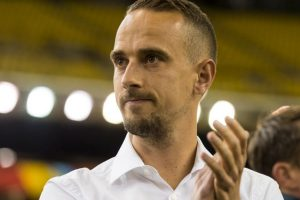 Mark Sampson (Gales) Foto:Getty Images