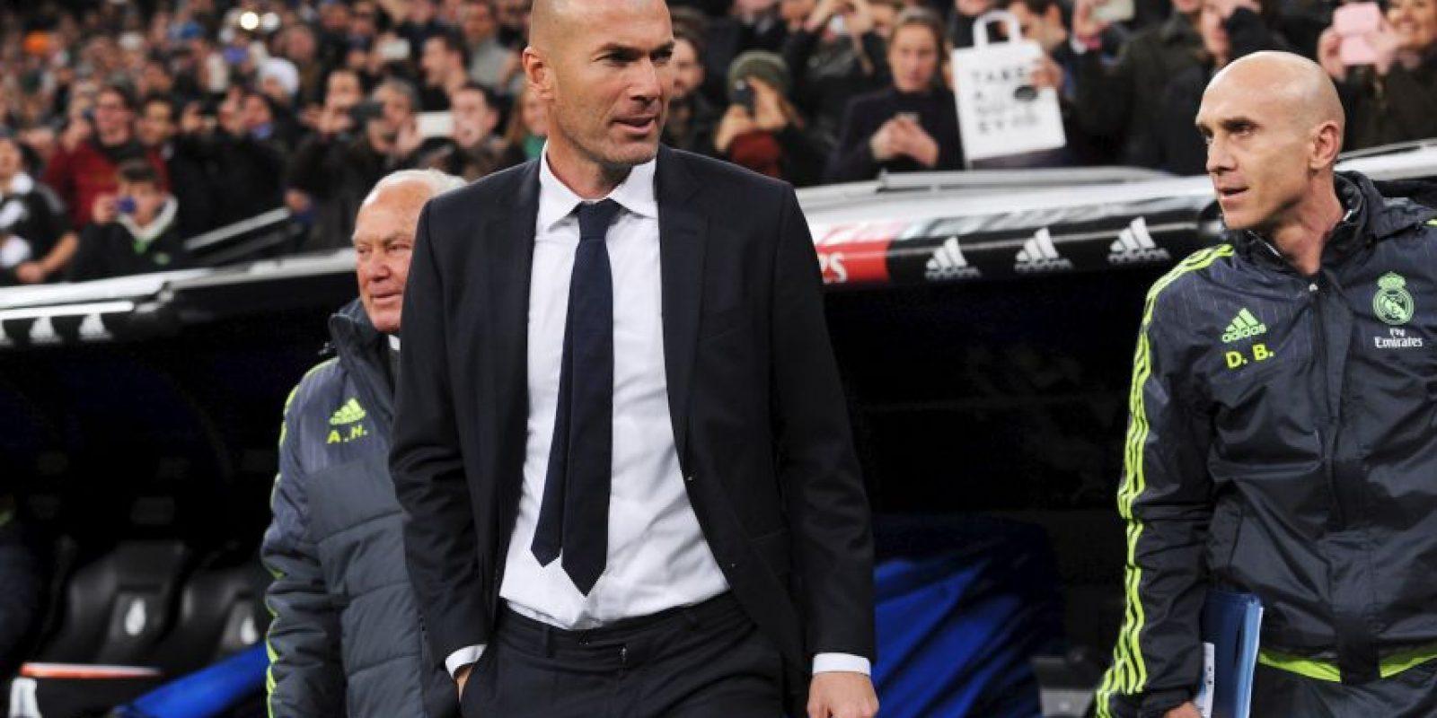 Las cosas comenzaron bien para el DT, pues a los pocos minutos, Real Madrid ya ganaba. Foto:Getty Images