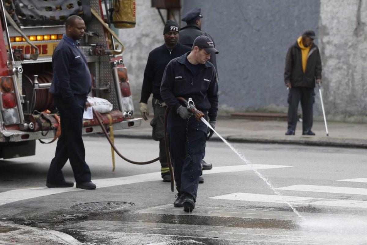 La casa no tenía detectores de humo. Foto:AP