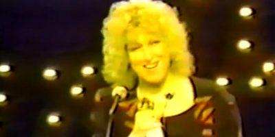 Pero el mejor momento es del de Bette Middler en 1980 Foto:NBC