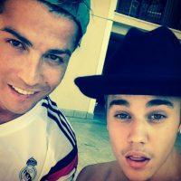 Otro de sus amigos deportistas es Cristiano Ronaldo. Foto:Vía instagram.com/justinbieber