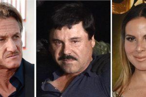 La actriz mexicana Kate del Castillo fue el contacto. Foto:AFP