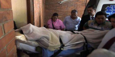 Ríos Montt fue internado en un hospital privado el año pasado. Fue la última vez que se le pudo fotografiar. Foto:AFP