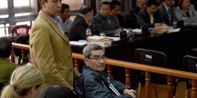 El jefe de inteligencia militar, José Rodríguez Sánche fue absuelto en el primer juicio. Foto:AFP