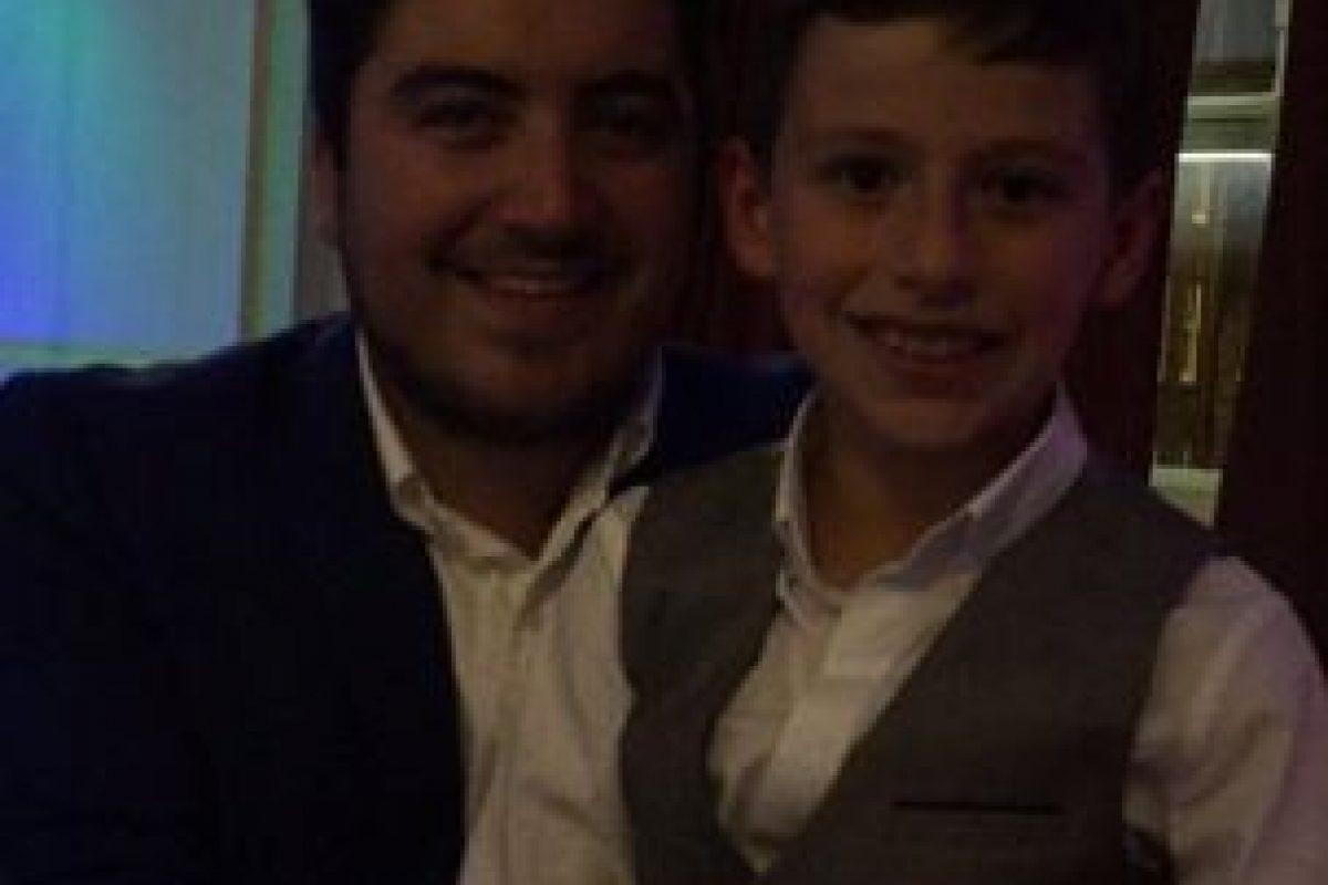 Su padre, Dave, fue quien compartió el video en su cuenta de Twitter. Foto:Vía twitter.com/shawyefc79
