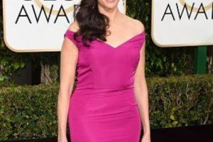 Michaela Watkins, en un vestido que se ha visto miles de millones de veces. Foto:vía Getty Images