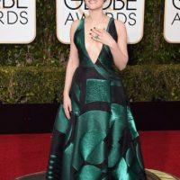 Jaimie Alexander, en un amplio y elegante vestido art-nouveau. Foto:vía Getty Images