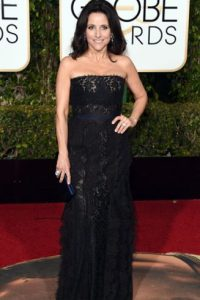 Julia Louis- Dreyfus, yendo a lo seguro. Foto: vía Getty Images