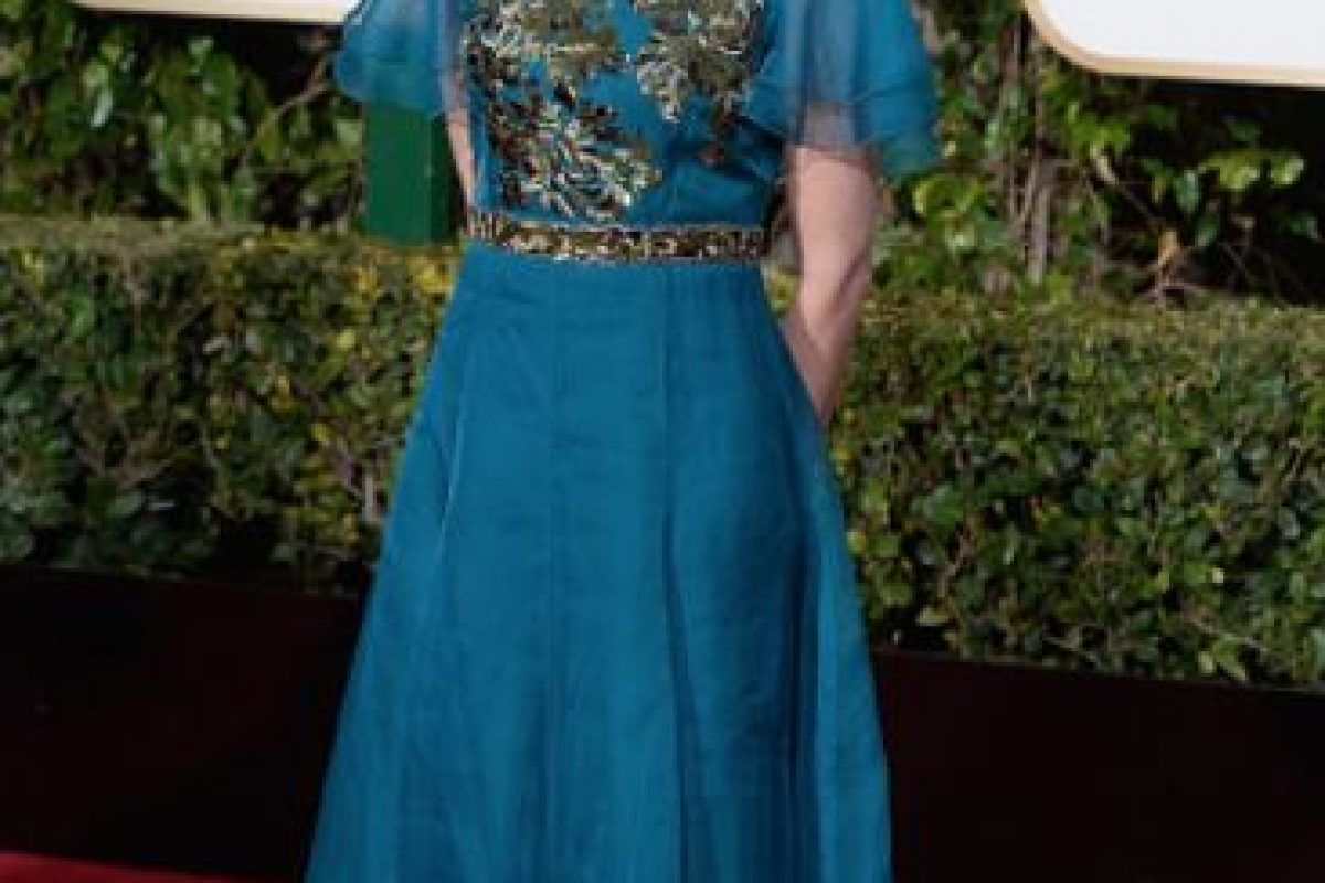 Calista Flockhart parece salida de un cuadro decimonónico. Foto:vía Getty Images