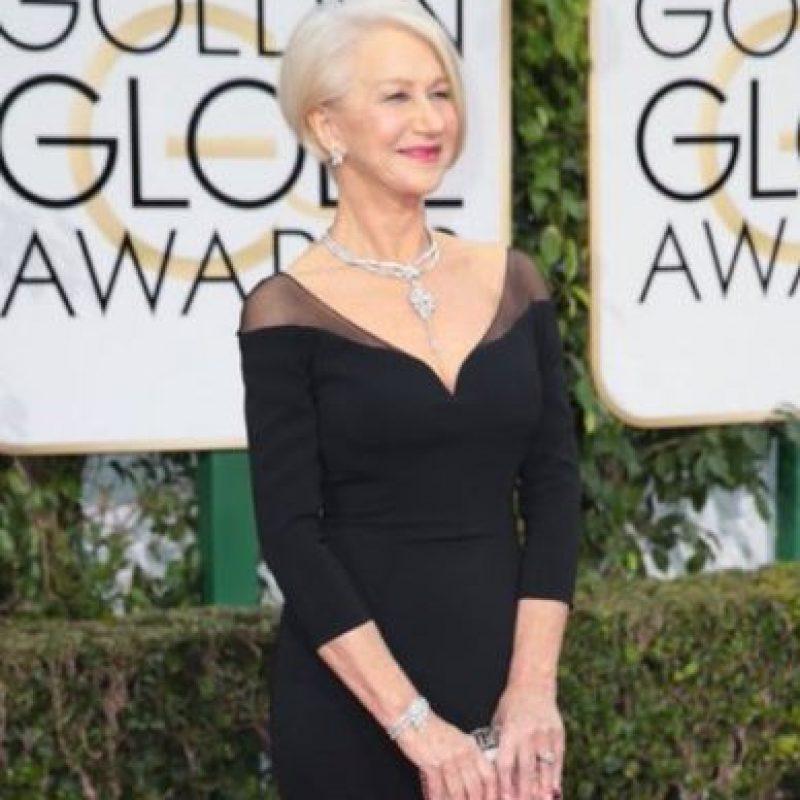 Todas quisieran ser como Helen Mirren a su edad. Foto:vía Getty Images