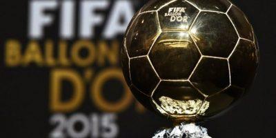 Detalles del trofeo del Balón de Oro
