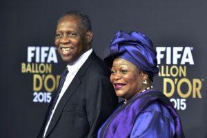 El presidente interino de la FIFA, Issa Hayatou Foto:Getty Images