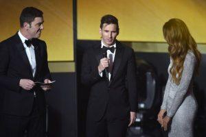 El argentino amplió su historial como el máximo ganador del galardón. Foto:AFP