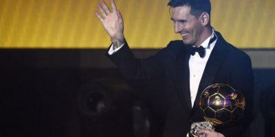 El Balón de Oro volvió a ser para el argentino Lionel Messi