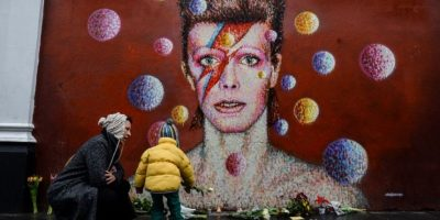 David Bowie falleció tras una batalla de 18 meses contra el cáncer. Foto:AFP
