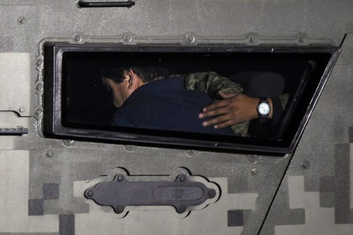 Luego de un enfrentamiento entre un grupo armado y agentes de la Secretaría de Marina se pudo capturar al narcotraficante. Foto:AFP