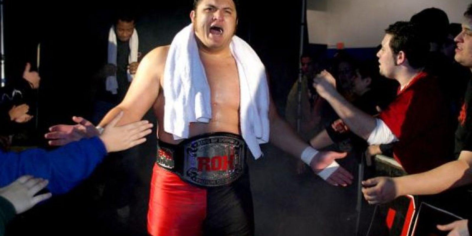 """Todos querían ver """"La Máquina de Rendición Samoana"""" en la WWE y se cumplió. Joe está en NXT, donde ha protagonizado grandes peleas y se prepara para integrar el roster estelar. Foto:WWE"""